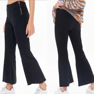 🆕 UO BDG Cropped Flare Raw Hem Jeans